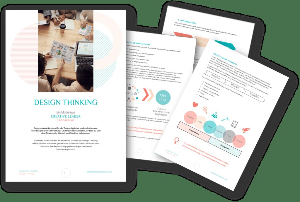 Design Thinking Methode: Leitfaden mit Checklisten und 7 Profi-Tipps